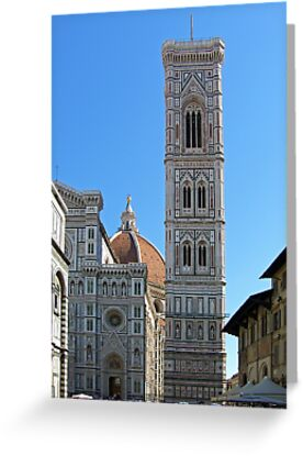 Campanile Tower and Duomo, Florence by Tom Gomez