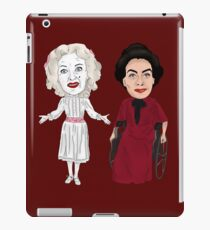What Ever Happened to Baby Jane Inspired Bette Davis Joan Crawford Illustration iPad Case/Skin