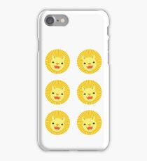 Six lions stickers iPhone Case/Skin