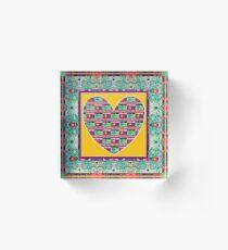 Higher Love - Heart of Hearts Acrylic Block