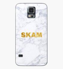 SKAM logo marble Case/Skin for Samsung Galaxy