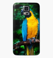 Blue and Gold Macaw Canvas Print, Photographic Print, Art Print, Framed Print, Metal Print, Greeting Card, iPhone Case, Samsung Galaxy Case, iPad Case, Throw Pillow, Tote Bag, Case/Skin for Samsung Galaxy