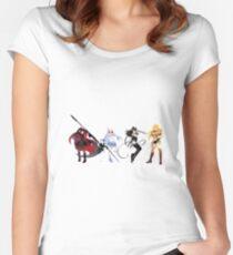 Team RWBY Volume 1 Concept Art Women's Fitted Scoop T-Shirt