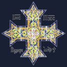 Christian Cross Coptic by quark