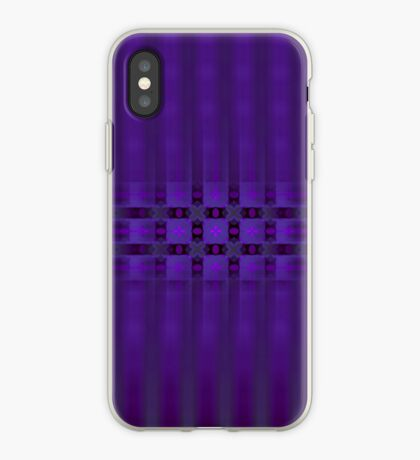 Streaks of Purple by Julie Everhart iPhone Case