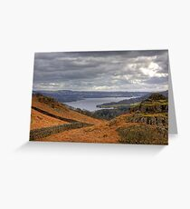 Loughrigg Fell View Greeting Card