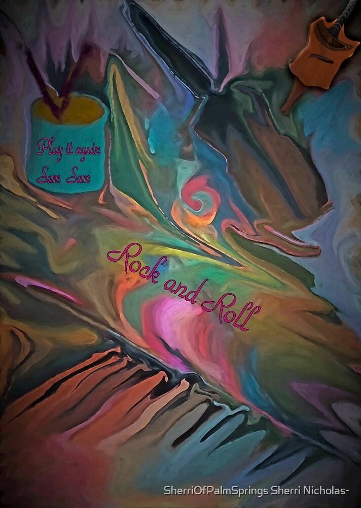 Abstract -Play It Again Sam by SherriOfPalmSprings Sherri Nicholas-