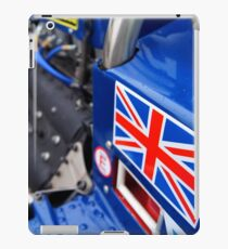 Historic F1 Car with Union Jack iPad Case/Skin