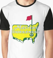 The Masters Golf Map Logo Graphic T-Shirt