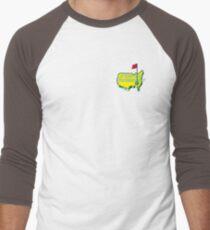 The Masters Golf Map Logo Men's Baseball ¾ T-Shirt
