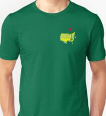 The Masters Golf Map Logo T-Shirt