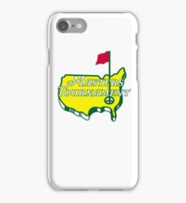 The Masters Golf Map Logo iPhone Case/Skin