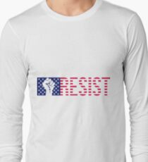Resistance is Patriotic Long Sleeve T-Shirt