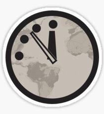 Doomsday Clock - The Final Countdown Sticker
