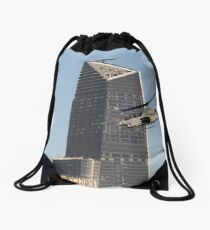 NEWYORK GUNSHIP Drawstring Bag