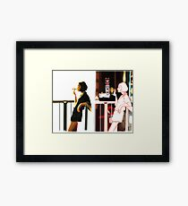 Beside Herself Framed Print