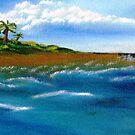 My Island on The Right by WhiteDove Studio kj gordon