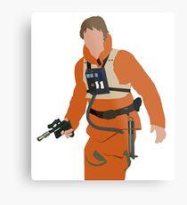 Luke Skywalker Metal Print