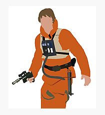 Luke Skywalker Photographic Print