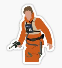 Luke Skywalker Sticker