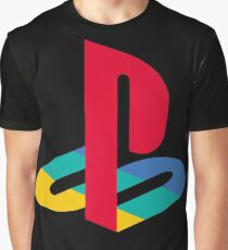 Playstation Logo t shirt Graphic T-Shirt