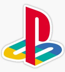 Playstation Logo t shirt Sticker