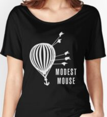 Modest Mouse Good News Before the Ship Sank Combined Album Covers (Dark) Women's Relaxed Fit T-Shirt