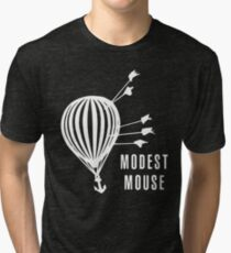 Modest Mouse Good News Before the Ship Sank Combined Album Covers (Dark) Tri-blend T-Shirt