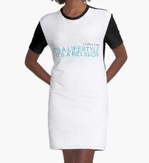 It's a Religion Graphic T-Shirt Dress