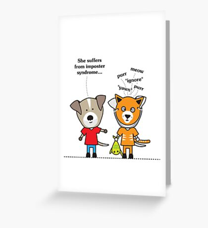 Imposter Syndrome Greeting Card