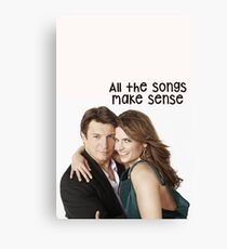 Songs Canvas Print