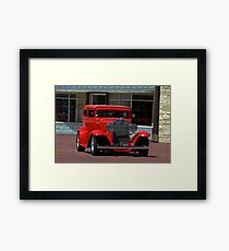 1930 Chevrolet Custom Sedan Framed Print