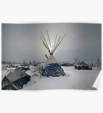 Winter Sun - Standing Rock Poster