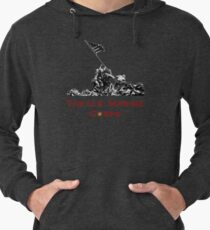 Raising the Flag on Iwo Jima Lightweight Hoodie