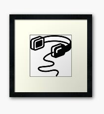 Old fashioned head higher Framed Print