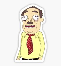 rick and morty - ants in my eyes johnson Sticker