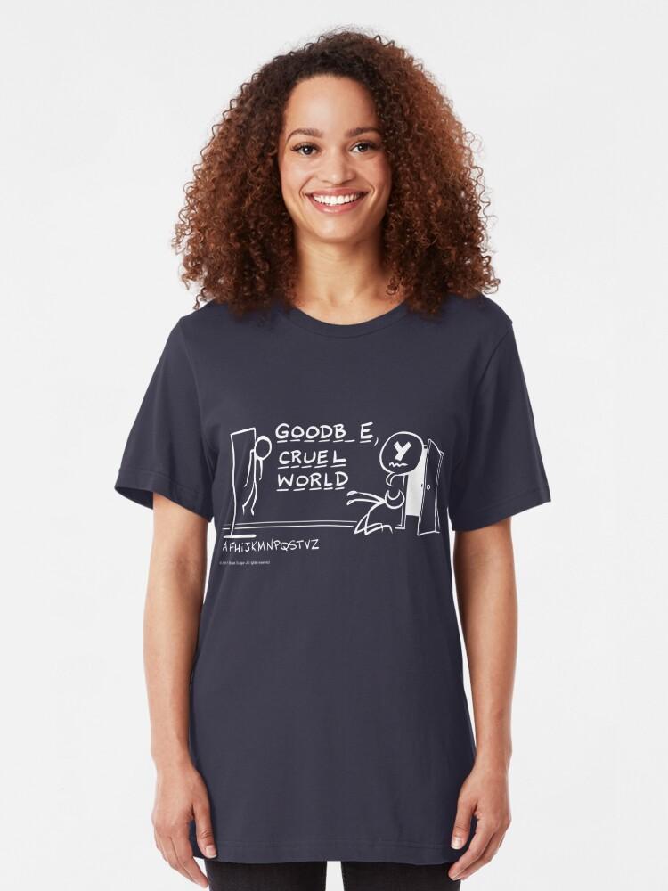 Alternate view of Hangman Slim Fit T-Shirt