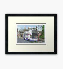 Horsforth Leeds Bus Framed Print