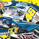 Valentino Rossi VR46 by Mark Higgins
