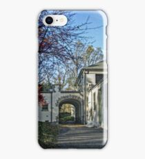Kingsland Point Park Bathhouse, opened 1926 iPhone Case/Skin