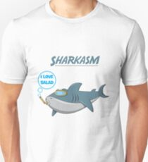SHARKASM - I LOVE SALAD Unisex T-Shirt