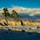 Stones on the Beach (Campus Point, Goleta, CA) by Brian Haidet