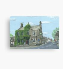 Horsforth Leeds King's Arms Canvas Print