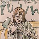 Joyce from Stranger Things by Byron  McBride