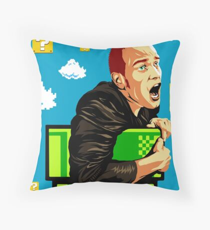It's a-me... Mark? Throw Pillow