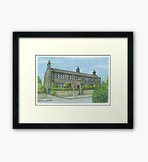 Horsforth Leeds Long Row Framed Print