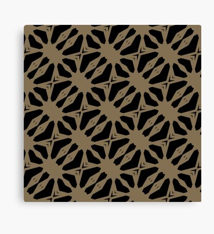 Pattern in Taupe by Julie Everhart Canvas Print