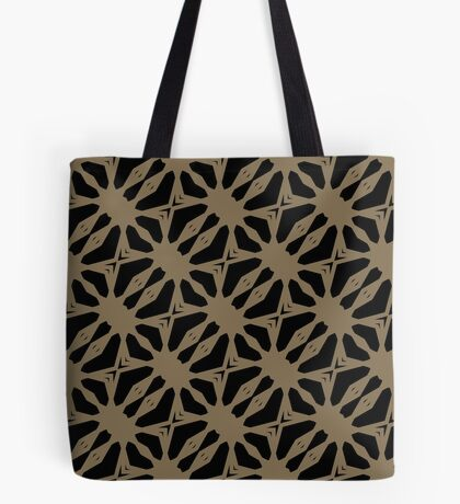 Pattern in Taupe by Julie Everhart Tote Bag