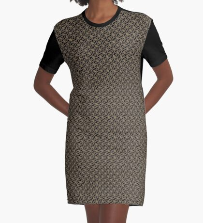Pattern in Taupe by Julie Everhart Graphic T-Shirt Dress