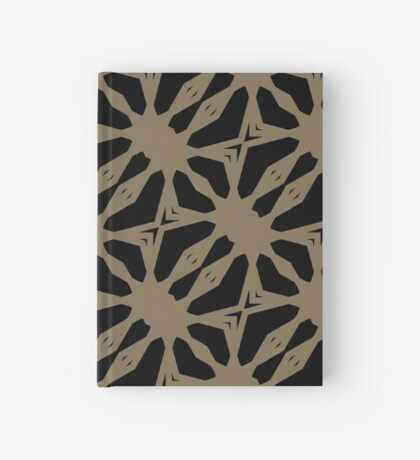 Pattern in Taupe by Julie Everhart Hardcover Journal